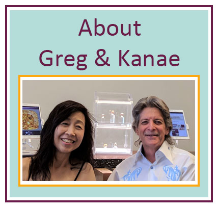 About Greg and Kanae